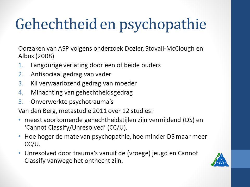 Gehechtheid en psychopathie