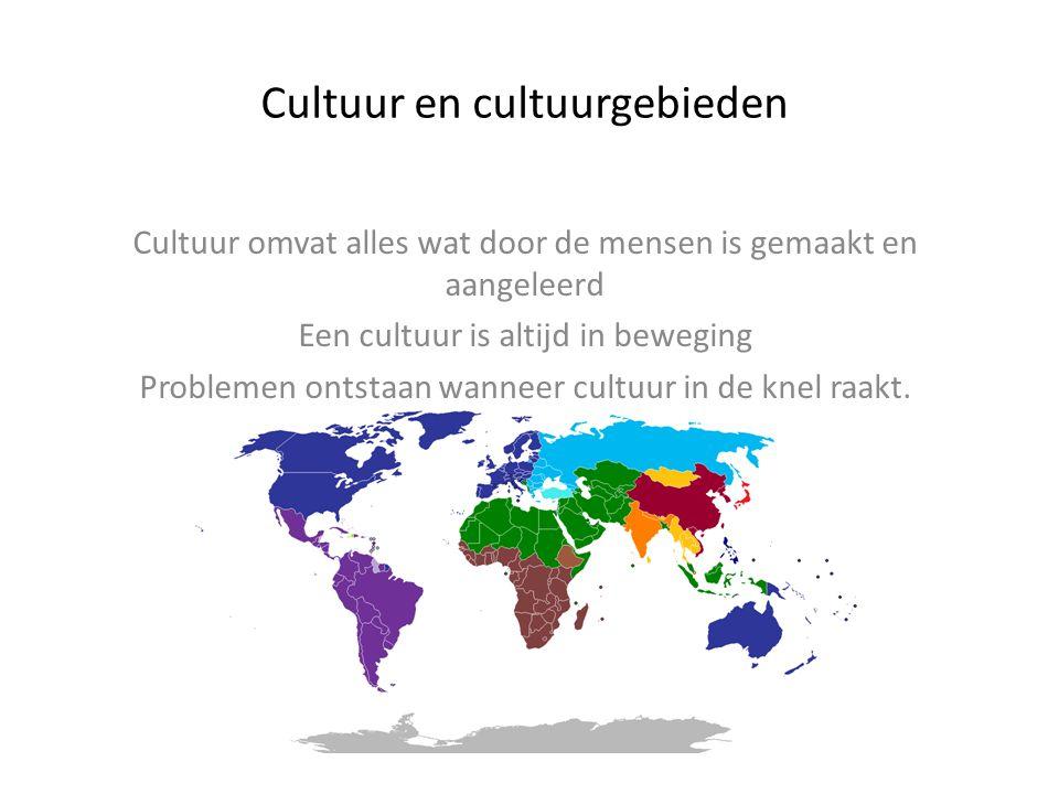 Cultuur en cultuurgebieden