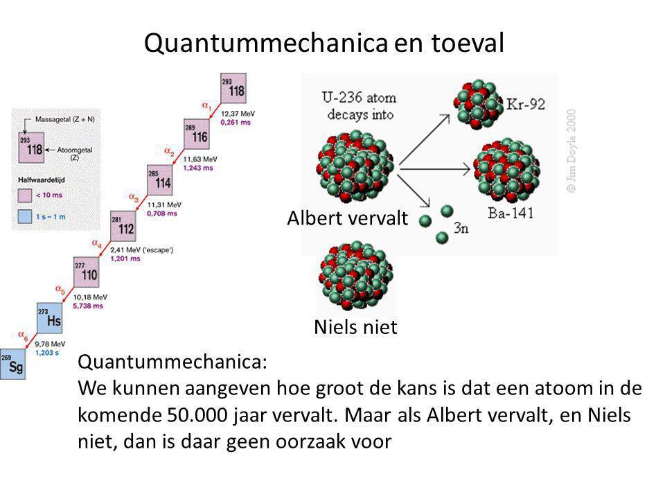 Quantummechanica en toeval