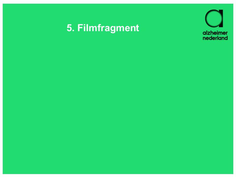 5. Filmfragment Suggestie: 'Ontregeld'.
