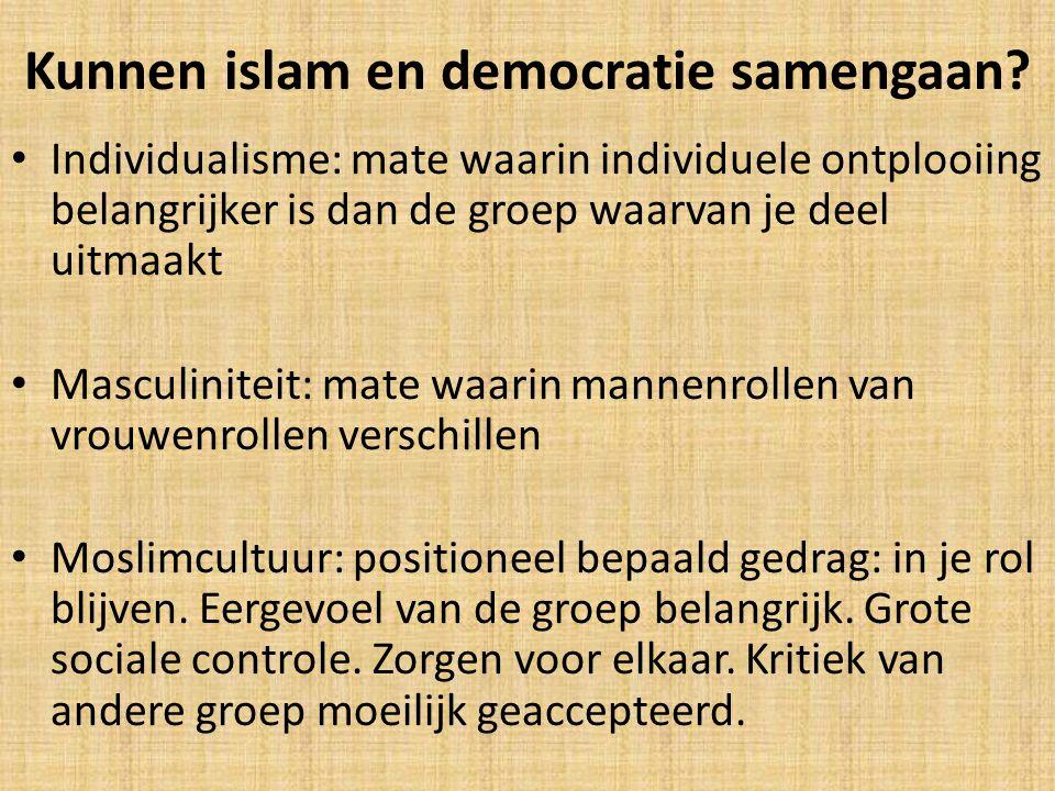 Kunnen islam en democratie samengaan