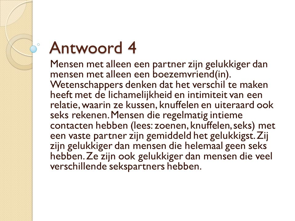 Antwoord 4
