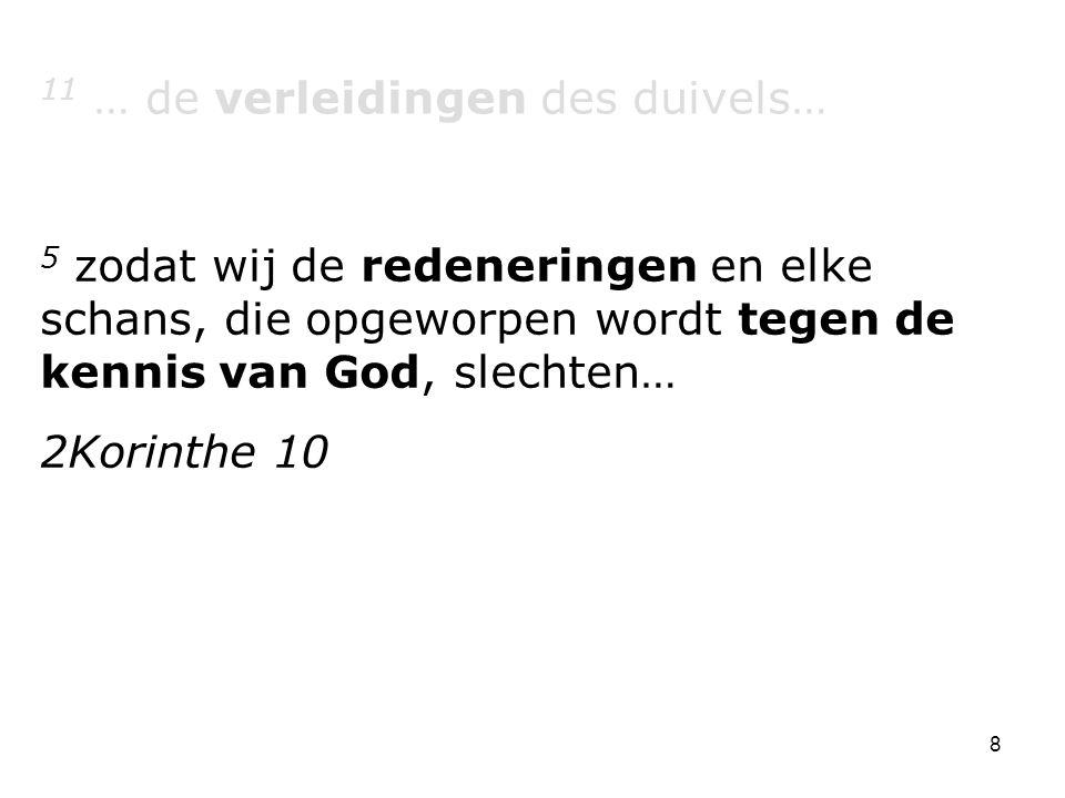 11 … de verleidingen des duivels…