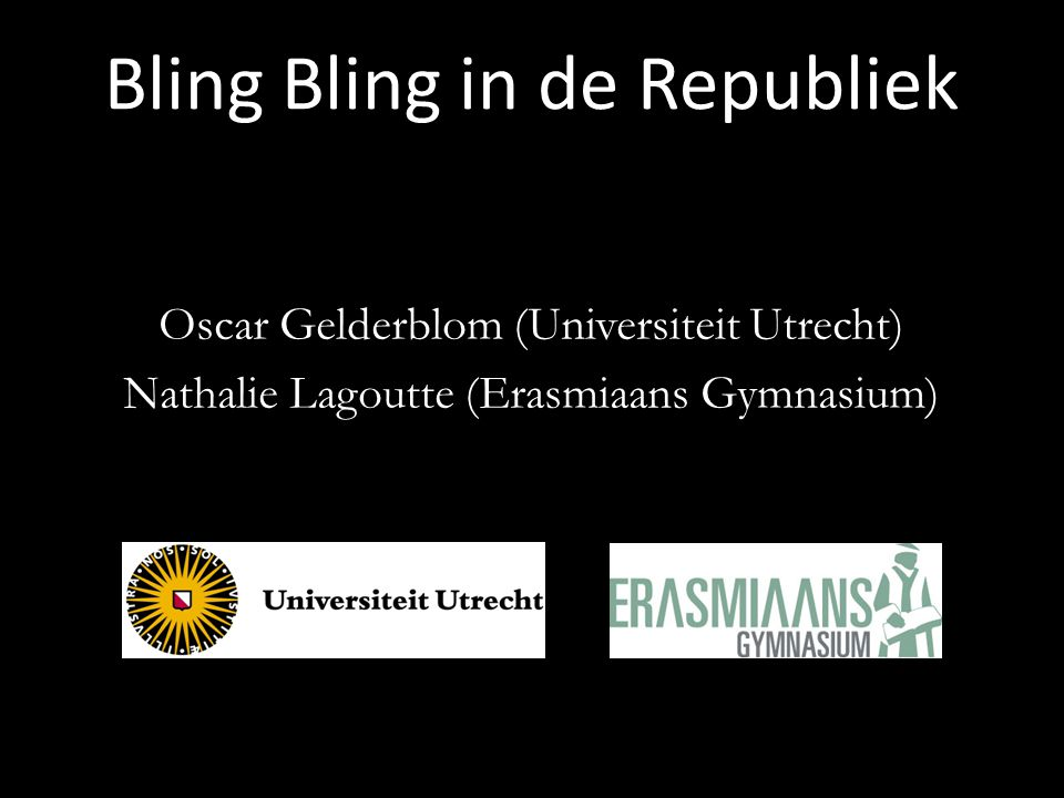 Bling Bling in de Republiek