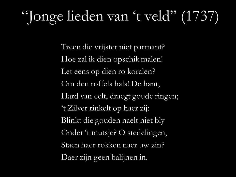 Jonge lieden van 't veld (1737)