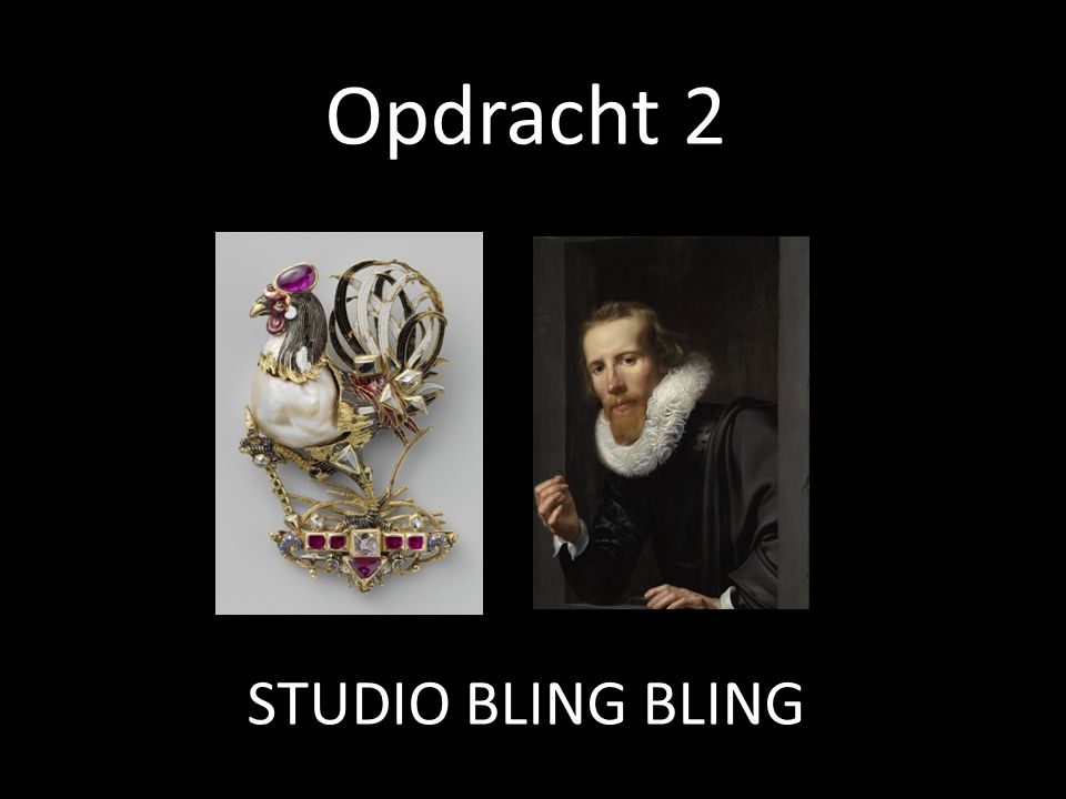 Opdracht 2 STUDIO BLING BLING