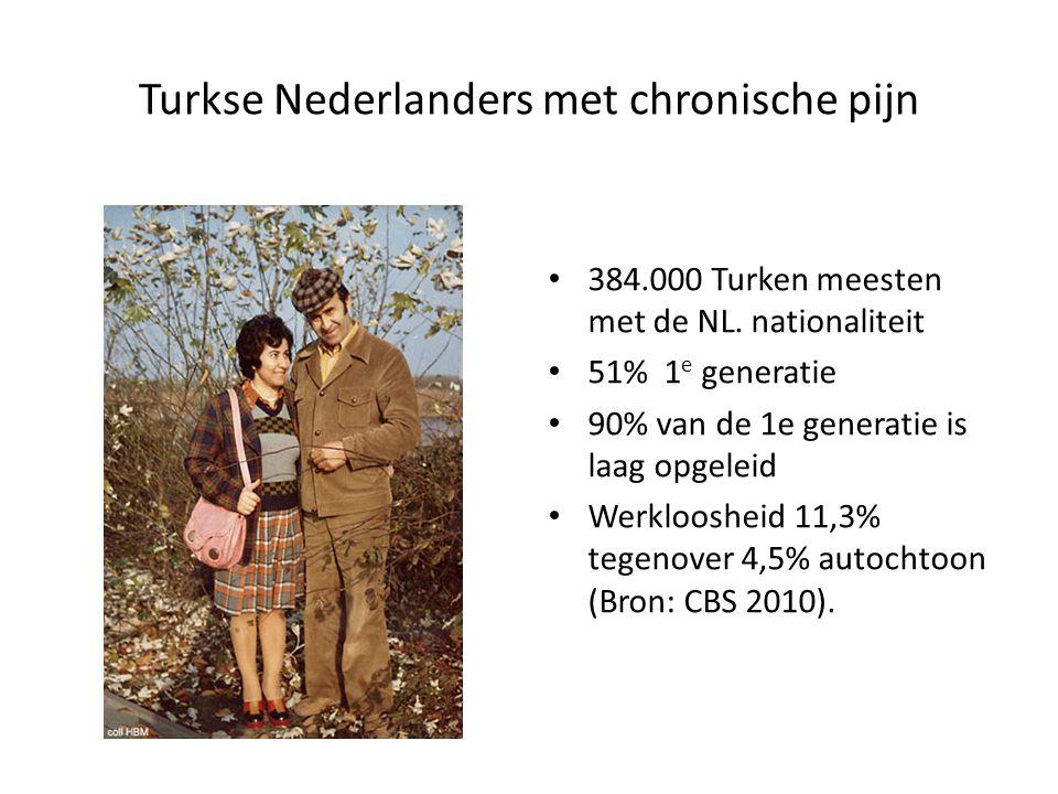 Turkse Nederlanders met chronische pijn