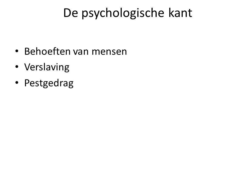 De psychologische kant