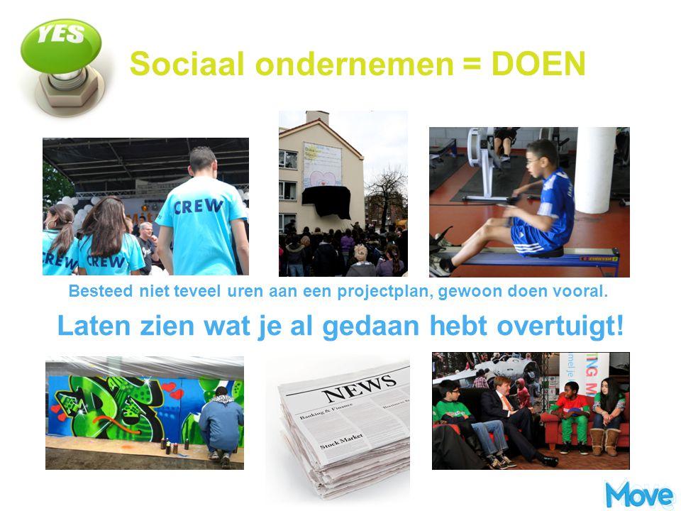 Sociaal ondernemen = DOEN