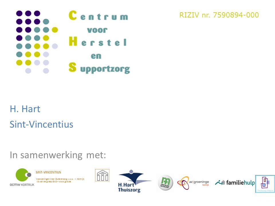 H. Hart Sint-Vincentius In samenwerking met: