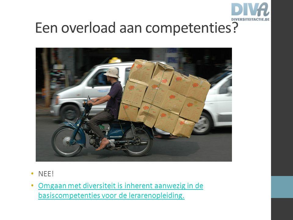 Een overload aan competenties