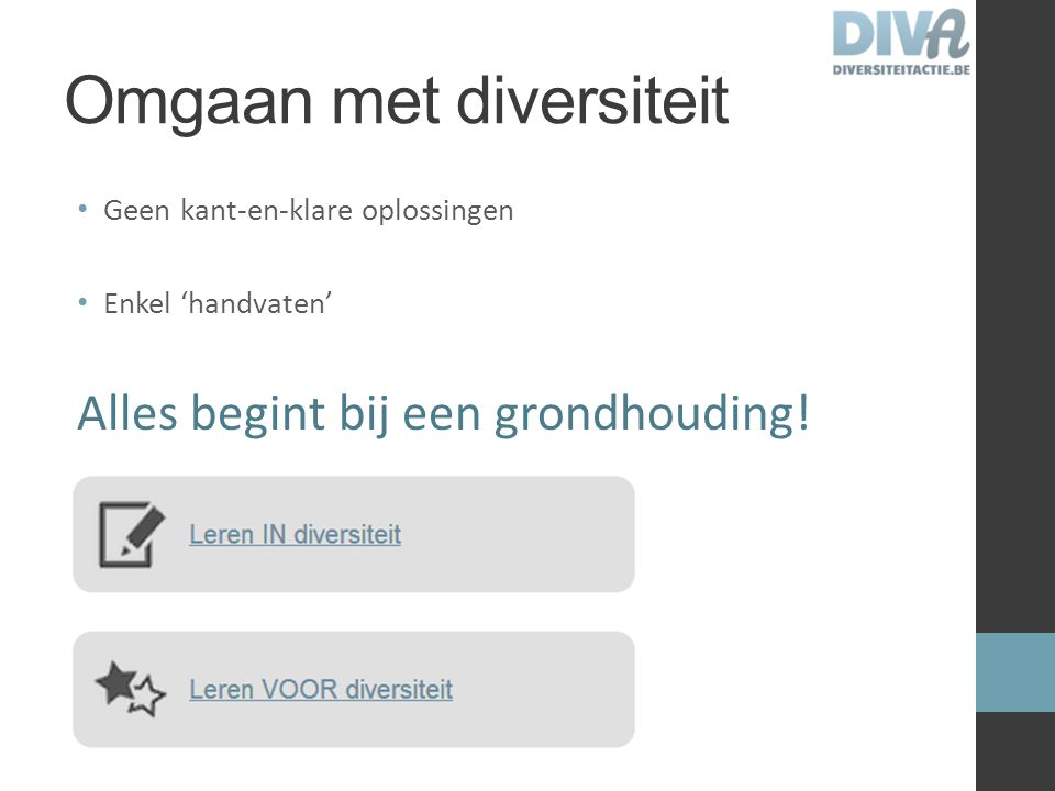 Omgaan met diversiteit