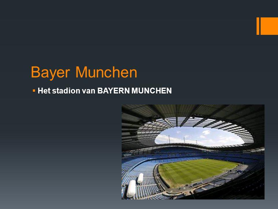 Bayer Munchen Het stadion van BAYERN MUNCHEN