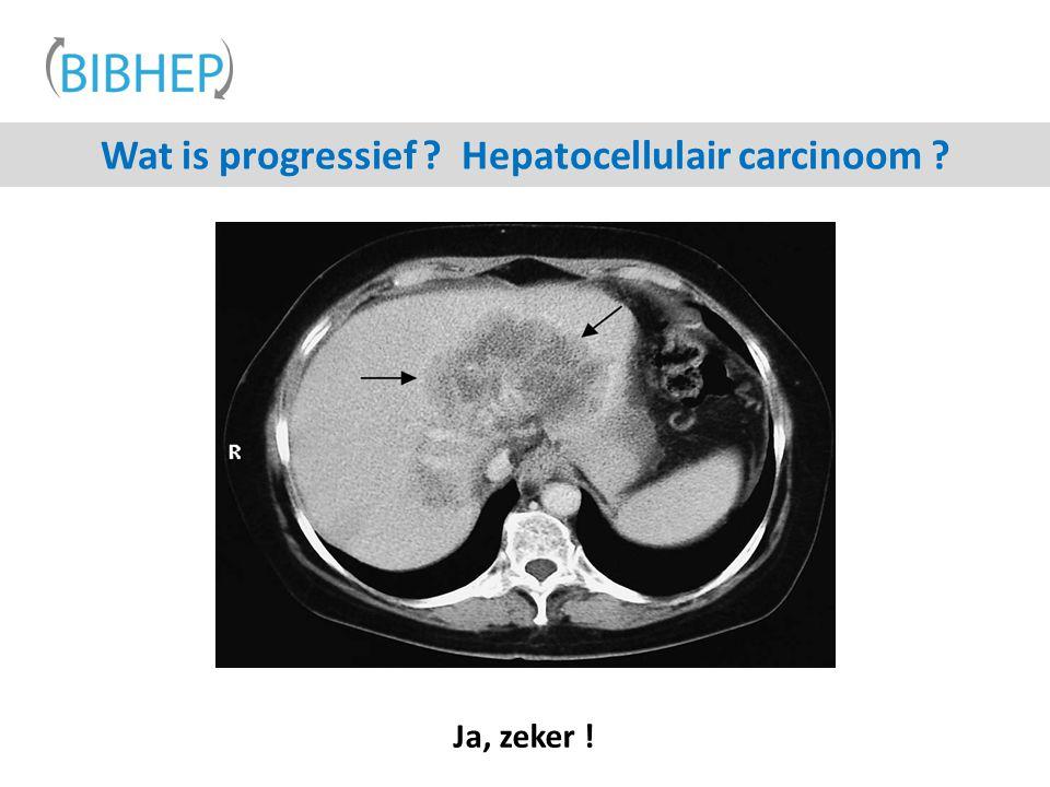 Wat is progressief Hepatocellulair carcinoom