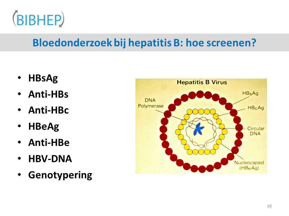 Bloedonderzoek bij hepatitis B: hoe screenen