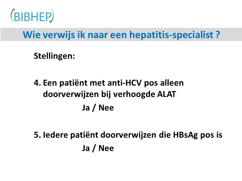 Wie verwijs ik naar een hepatitis-specialist