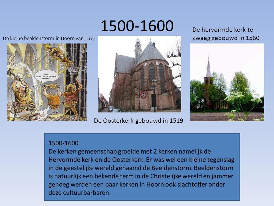 1500-1600 De hervormde kerk te Zwaag gebouwd in 1560
