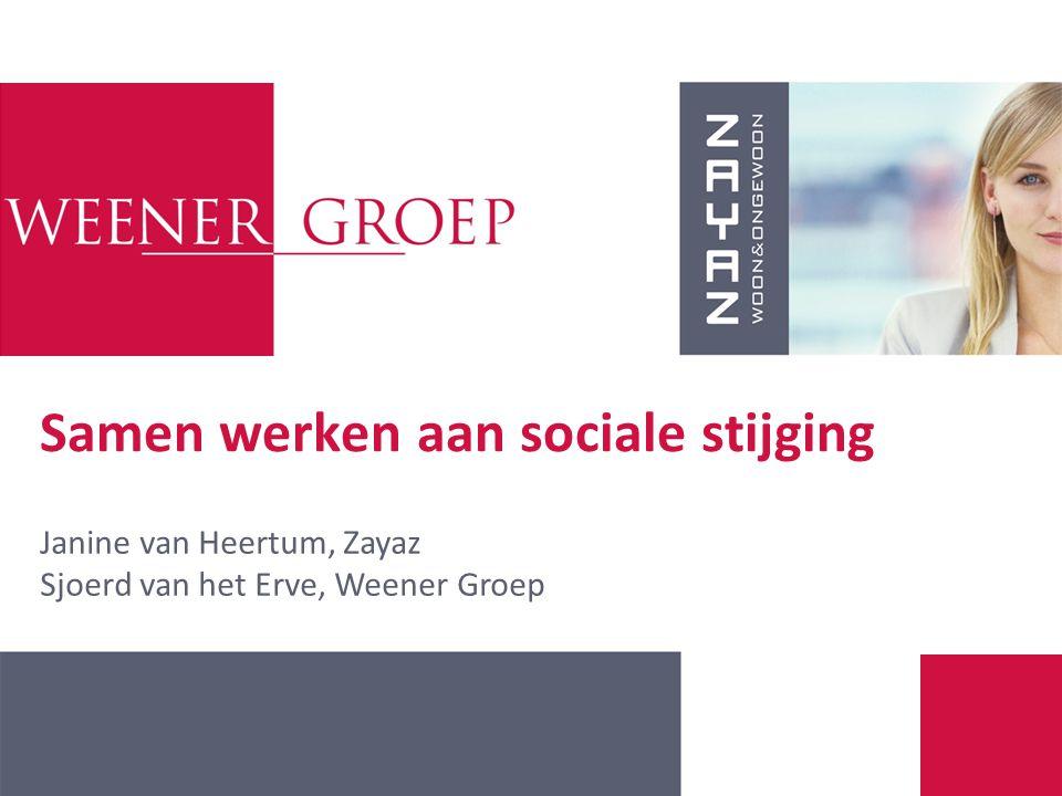 Samen werken aan sociale stijging