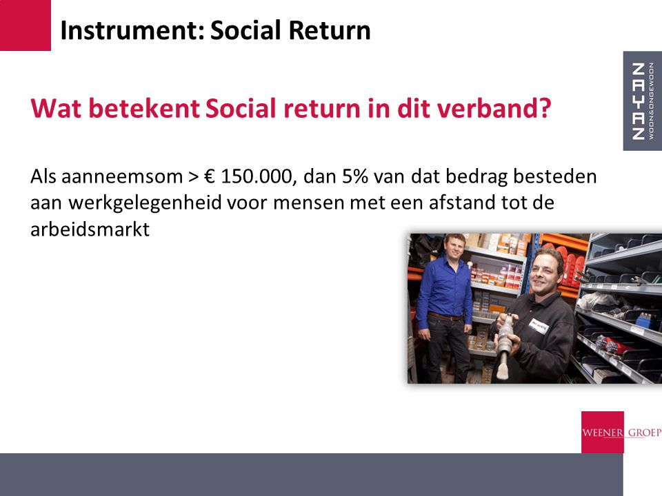 Instrument: Social Return