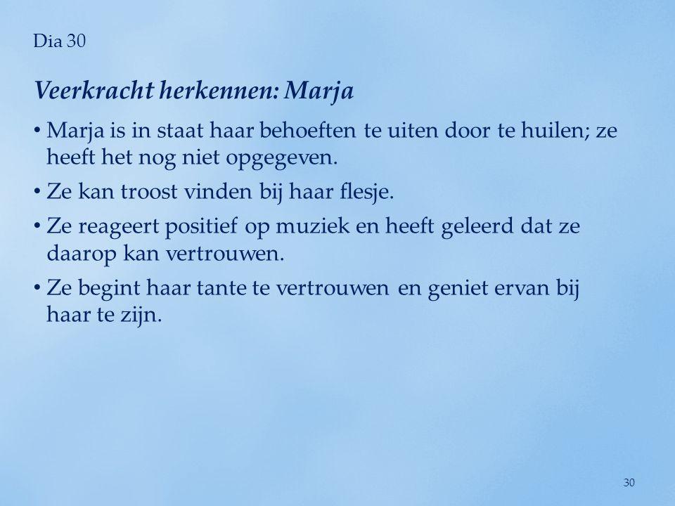 Veerkracht herkennen: Marja