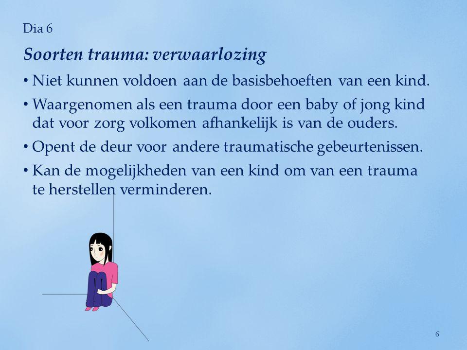 Soorten trauma: verwaarlozing