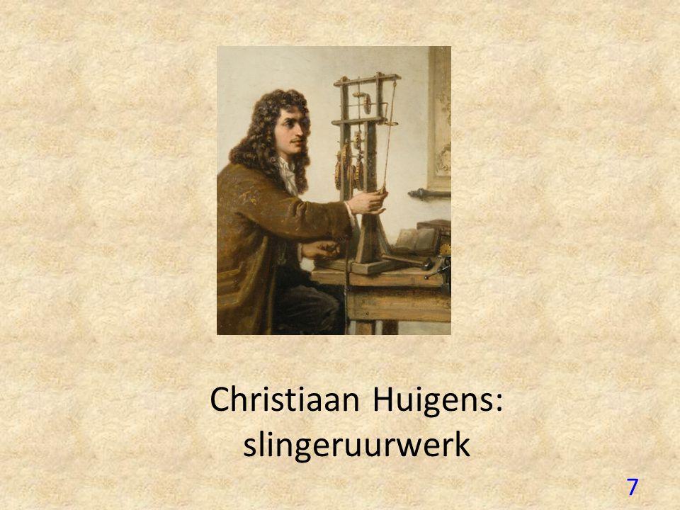 Christiaan Huigens: slingeruurwerk