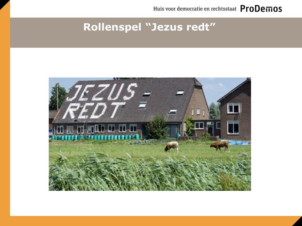 Rollenspel Jezus redt
