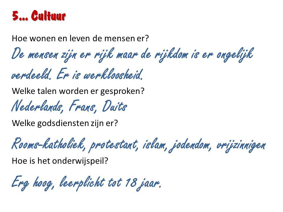 Nederlands, Frans, Duits