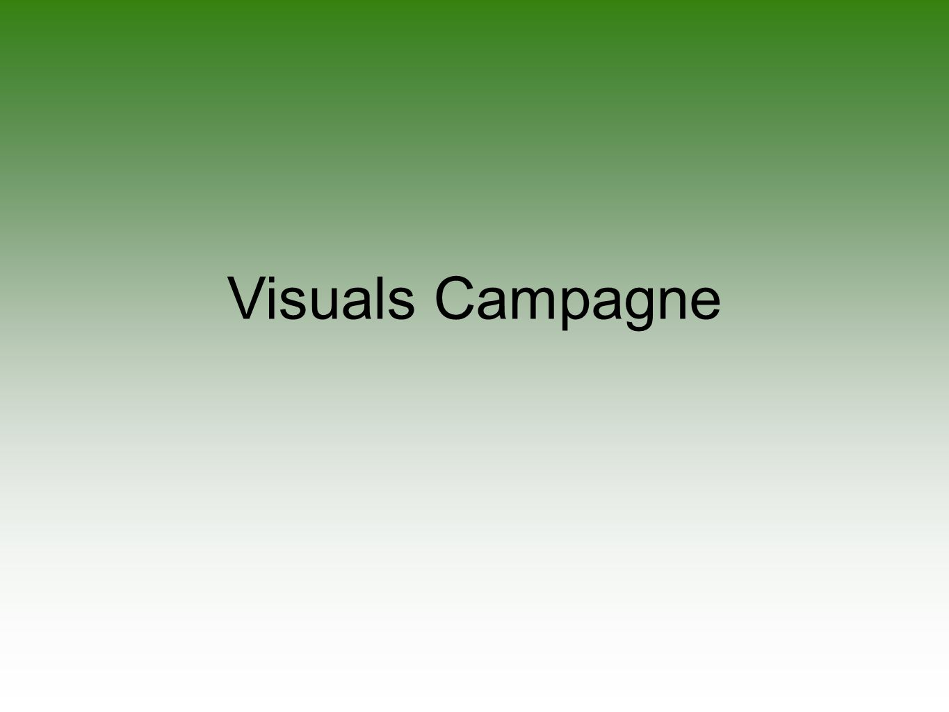 Visuals Campagne