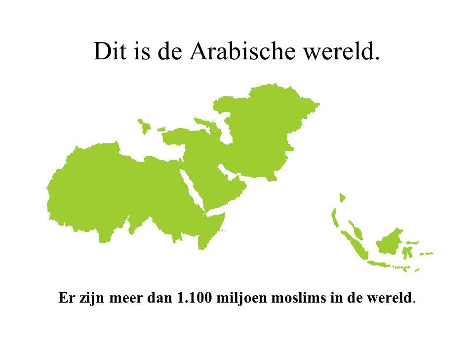 Dit is de Arabische wereld.