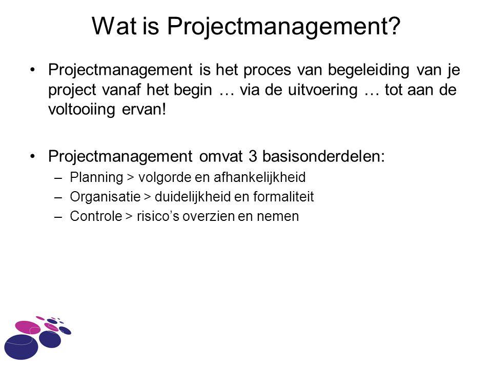 Wat is Projectmanagement