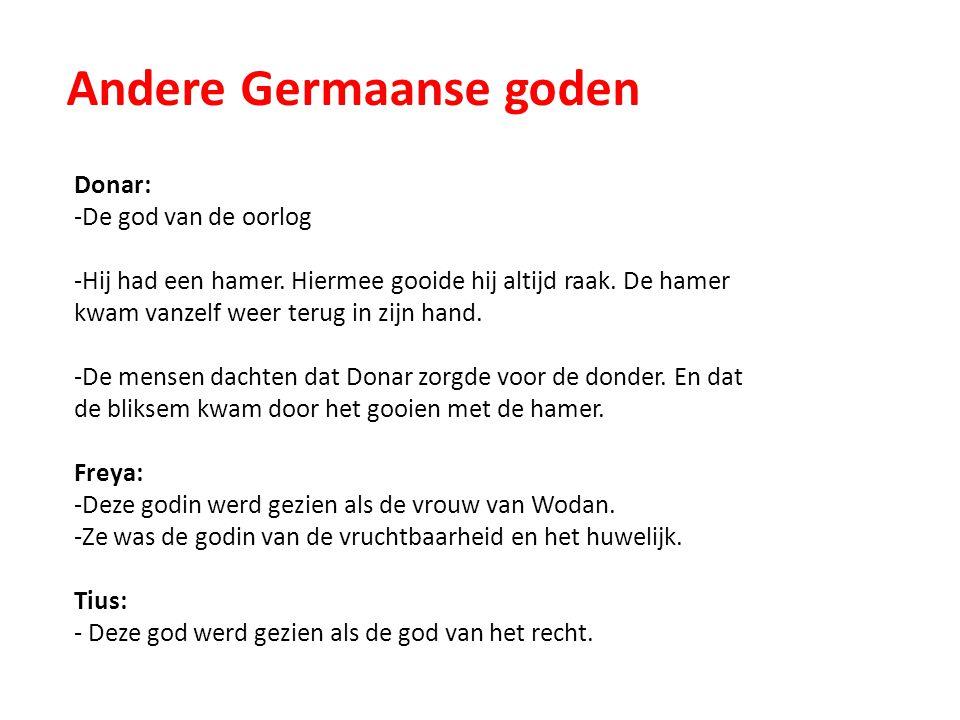 Andere Germaanse goden