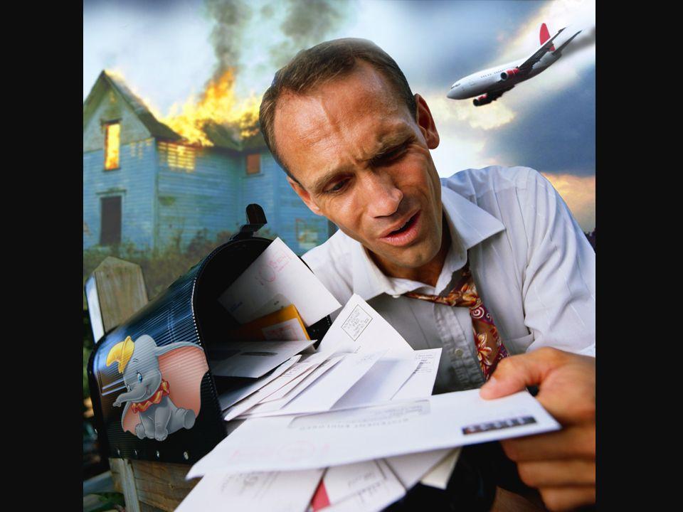 Zijn huis staat in brand er gaat een vliegtuig neerstorten, zijn dochter zit in een psychiatrische kliniek, zijn huwelijk loopt helemaal vast…