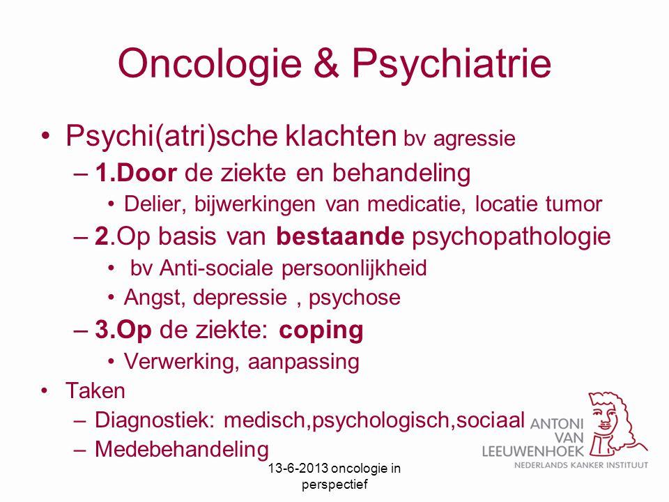 Oncologie & Psychiatrie
