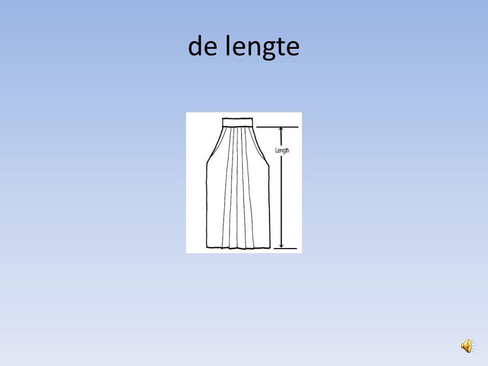 de lengte