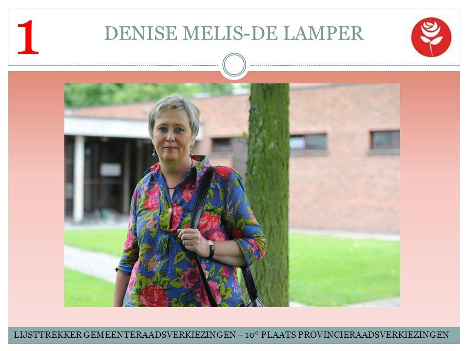 DENISE MELIS-DE LAMPER
