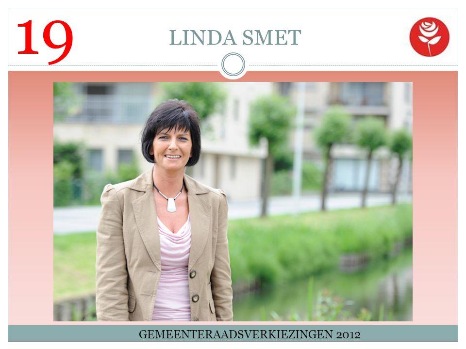 19 LINDA SMET GEMEENTERAADSVERKIEZINGEN 2012