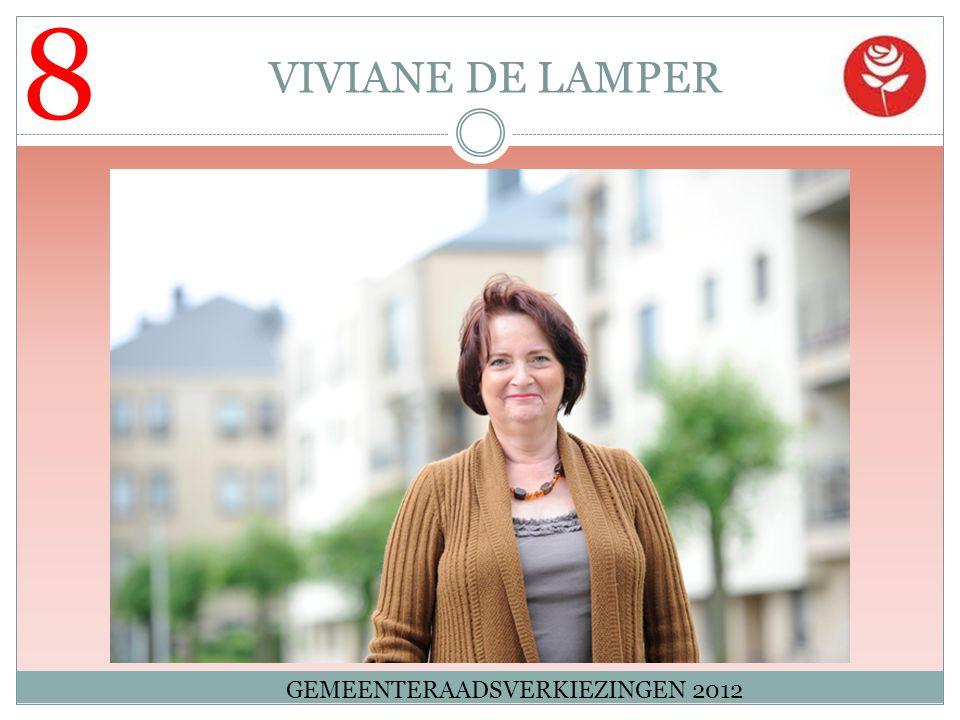 8 VIVIANE DE LAMPER GEMEENTERAADSVERKIEZINGEN 2012
