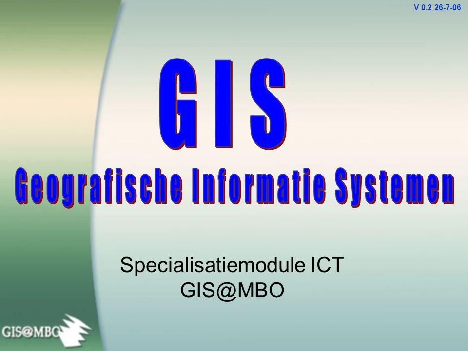 Specialisatiemodule ICT GIS@MBO