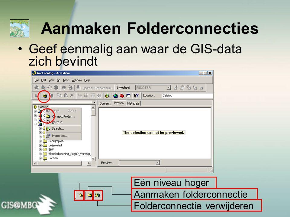 Aanmaken Folderconnecties