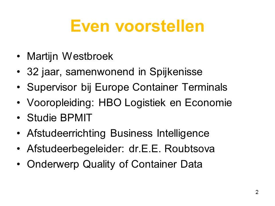Even voorstellen Martijn Westbroek 32 jaar, samenwonend in Spijkenisse