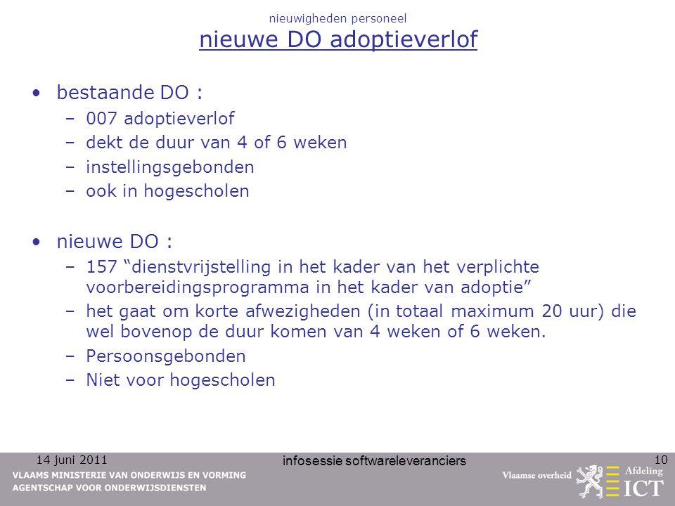 nieuwigheden personeel nieuwe DO adoptieverlof