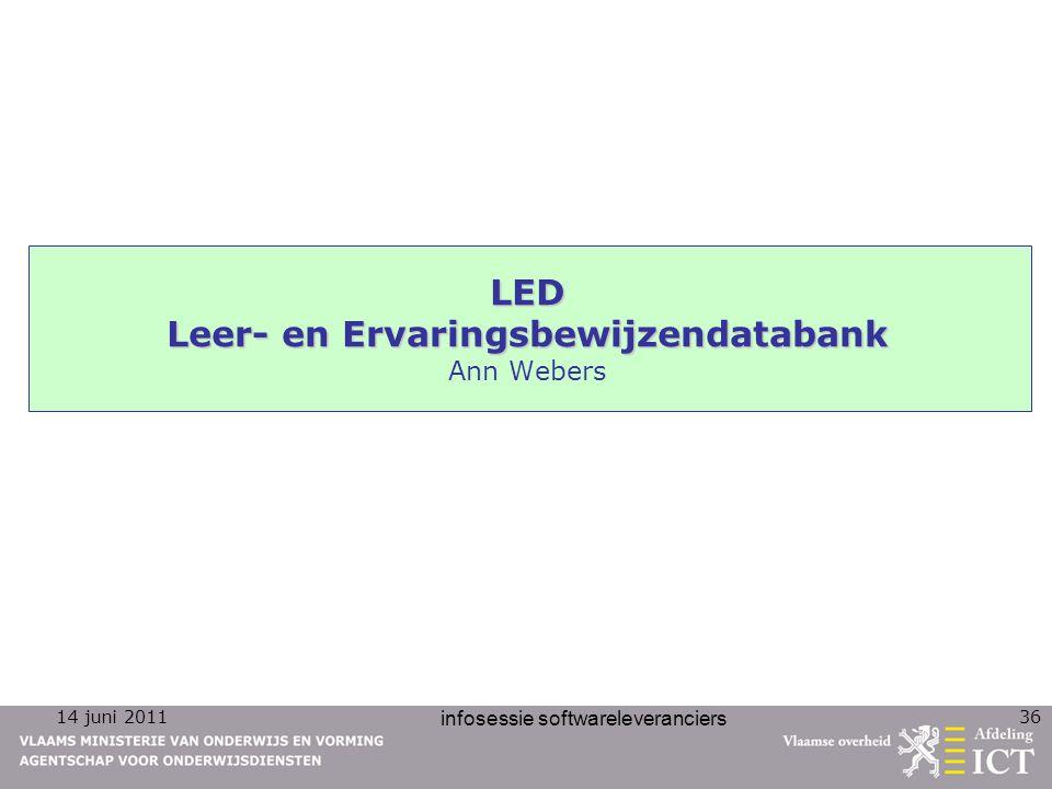 LED Leer- en Ervaringsbewijzendatabank Ann Webers