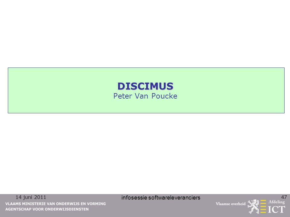 DISCIMUS Peter Van Poucke