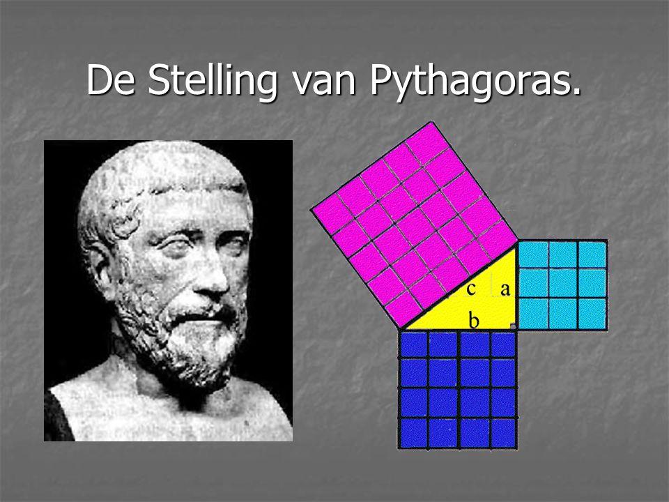 De Stelling van Pythagoras.