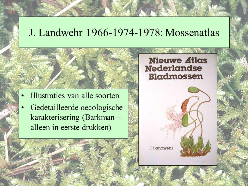 J. Landwehr 1966-1974-1978: Mossenatlas