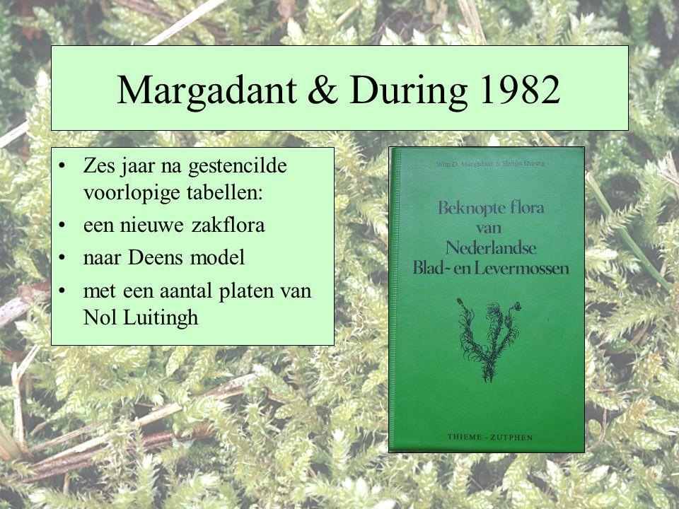 Margadant & During 1982 Zes jaar na gestencilde voorlopige tabellen: