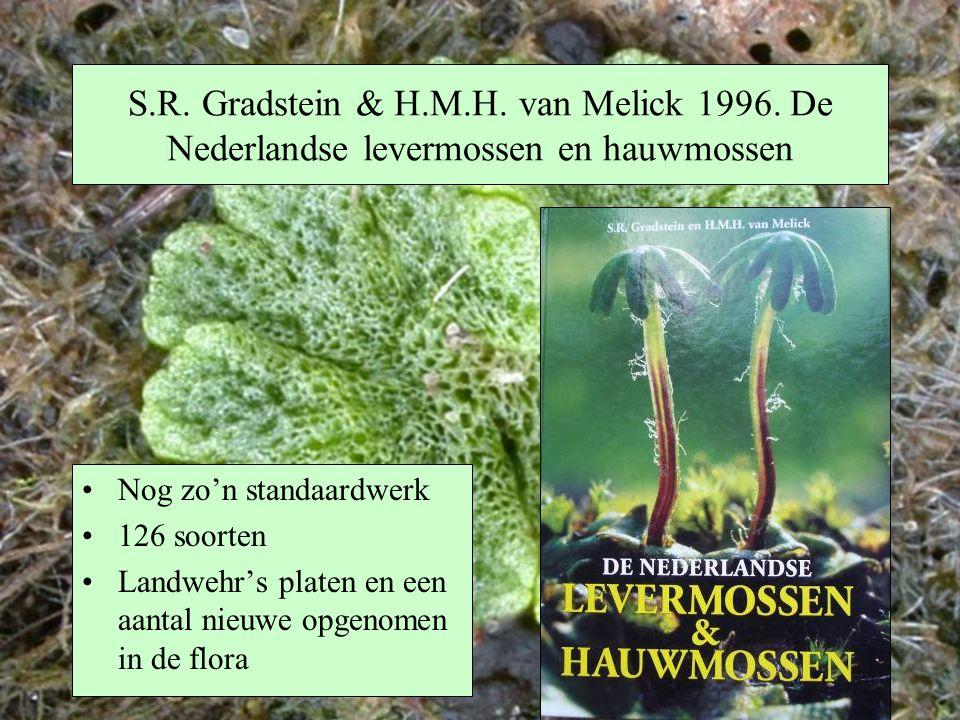 S. R. Gradstein & H. M. H. van Melick 1996