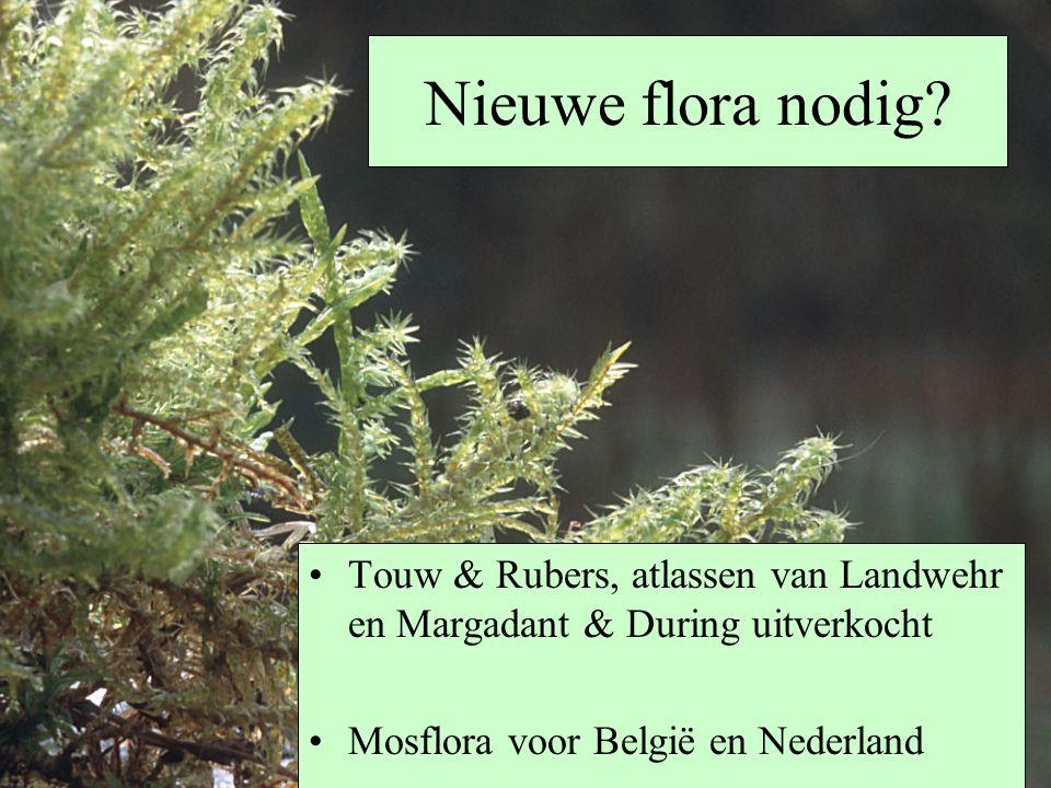 Nieuwe flora nodig. Touw & Rubers, atlassen van Landwehr en Margadant & During uitverkocht.