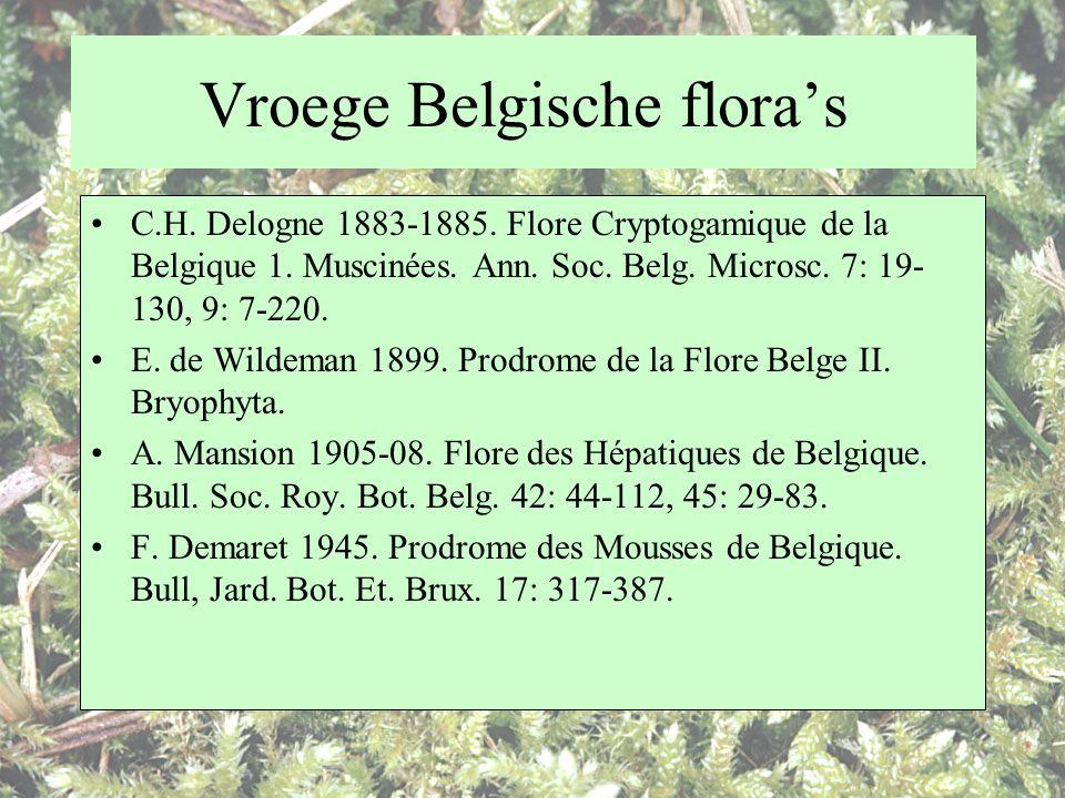 Vroege Belgische flora's